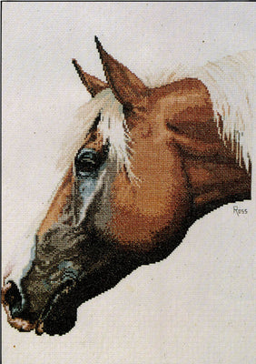 Palomino - A Ross Originals cross stitch chart