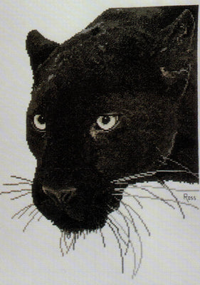 Panther - A Ross Originals cross stitch chart
