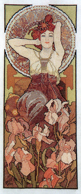 Amethyst - A Ross Originals cross stitch chart