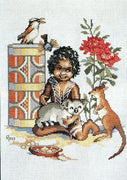 Bush Babies - A Ross Originals cross stitch chart