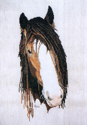 Clydesdale - A Ross Originals cross stitch chart