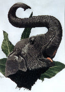 Indian Elephant - A Ross Originals cross stitch chart
