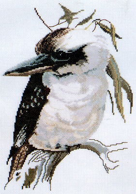 Kookaburra - A Ross Originals cross stitch chart