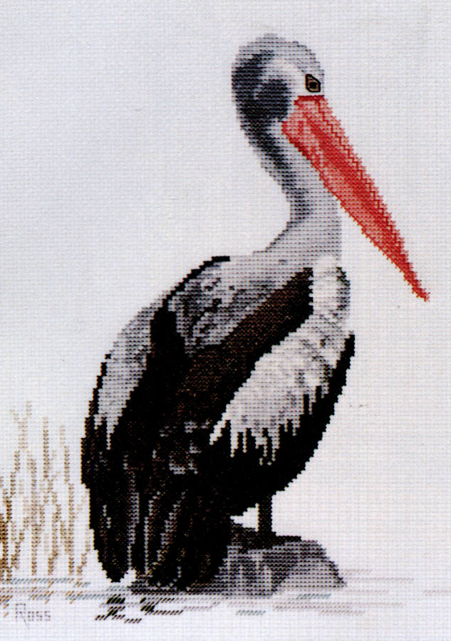 Pelican - A Ross Originals cross stitch chart