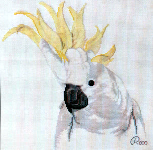 Sulphur Crested Cockatoo 1 - A Ross Originals cross stitch chart