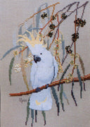 Sulphur Crested Cockatoo 2 - A Ross Originals cross stitch chart