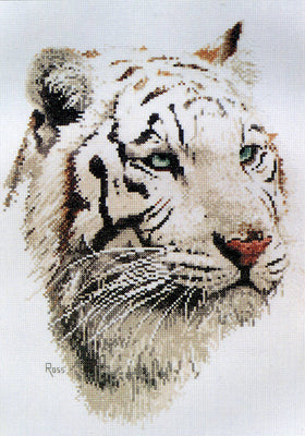 White Tiger - A Ross Originals cross stitch chart
