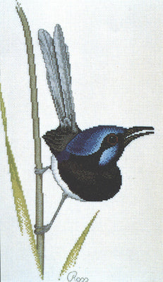 Wren - A Ross Originals cross stitch chart
