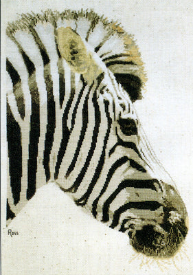 Zebra - A Ross Originals cross stitch chart