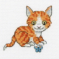 Ginger Scamp - A RTO cross stitch Kit