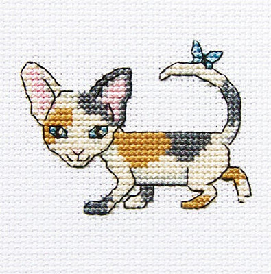 Curious Lucy - A RTO cross stitch Kit