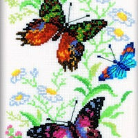Flying Butterflies - An RTO cross stitch Kit
