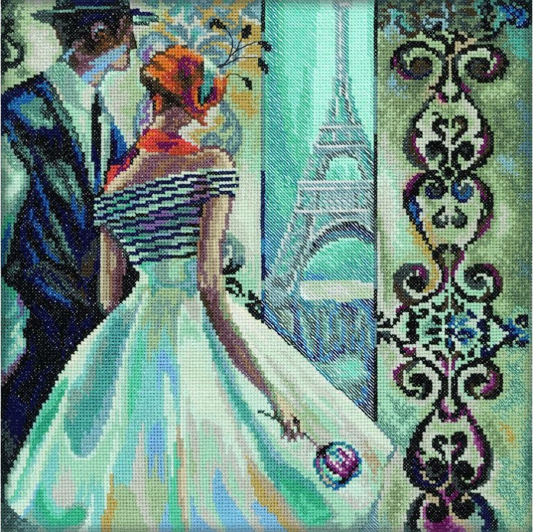 Spring in Paris - A RTO cross stitch Kit