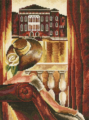 Room with a View - Venice - A RTO cross stitch Kit