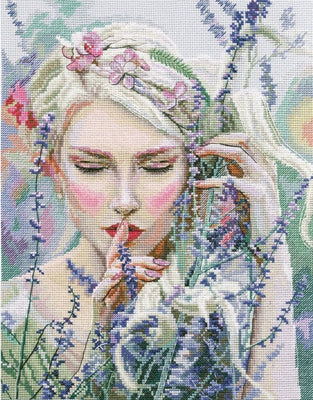 Listening to the Silence - A RTO cross stitch Kit