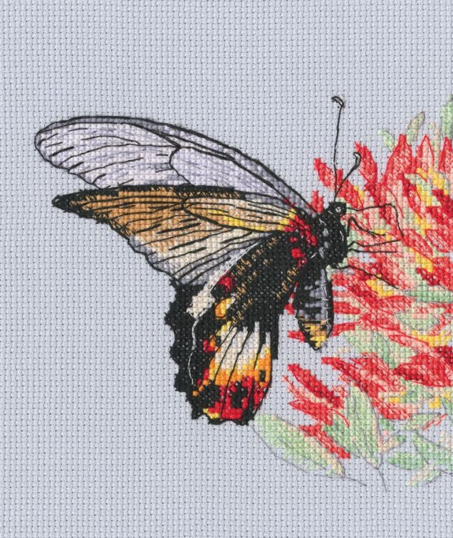 Butterflies 5 - An RTO cross stitch Kit