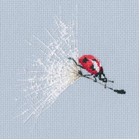 On the Dandelion's Parachute - An RTO cross stitch Kit