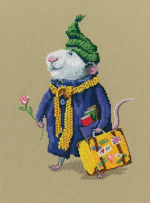 Wonderful and Sublime World - A RTO cross stitch Kit