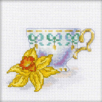 Daffodil Cup  - An RTO Miniature cross stitch Kit