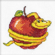 Tempting Snake - A RTO cross stitch Kit