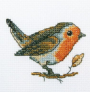 Robin Red Breast - A RTO cross stitch Kit