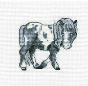 Flecked Horse - A RTO cross stitch Kit
