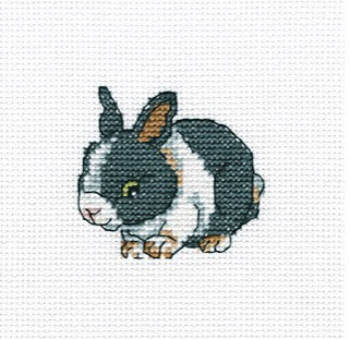Cute Rabbit - A RTO cross stitch Kit