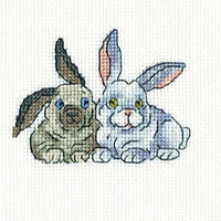 Brair Rabbits - A RTO cross stitch Kit