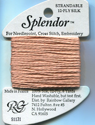 S1131 Rainbow Gallery Splendor Silk Thread