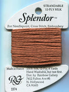 S974 Rainbow Gallery Splendor Silk Thread