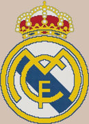 Real Madrid FC Cross Stitch Design - stitchaphoto