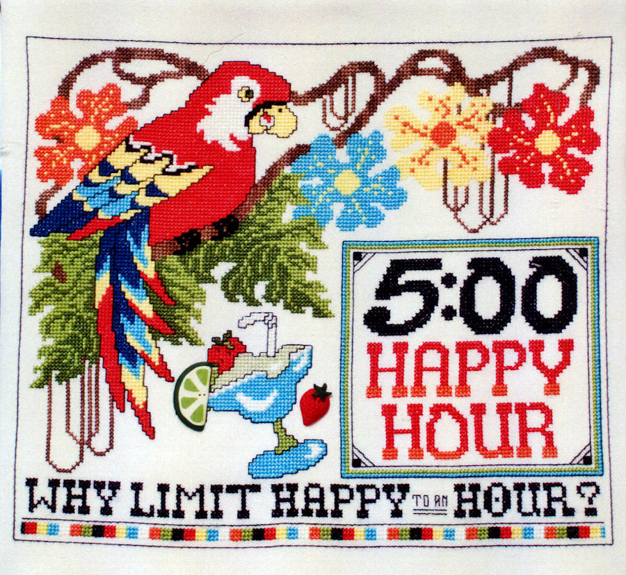 It's 5 O'Clock somewhere - A Stoney Creek Chart Booklet