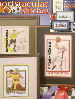 Sportstacular Stitches - A Stoney Creek Collection cross stitch booklet