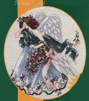 Musing Angel - A Stoney Creek Collection cross stitch chart