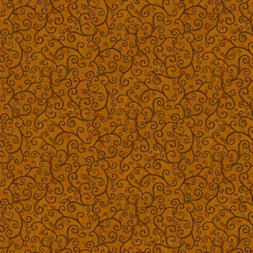 Time to Harvest Quilting Fabrics - Brown - 5.5m length