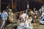 Shearing the Rams - A Country Threads Tapestry Canvas