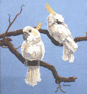 Birds of a Feather - A Couchman Creations cross stitch chart