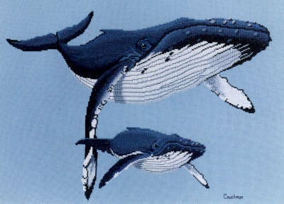 Humpbacks - A Couchman Creations cross stitch chart