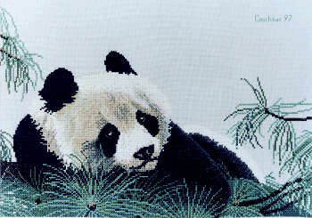Panda - A Couchman Creations cross stitch chart