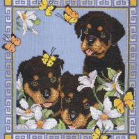 Garden Pups - A Couchman Creations cross stitch chart