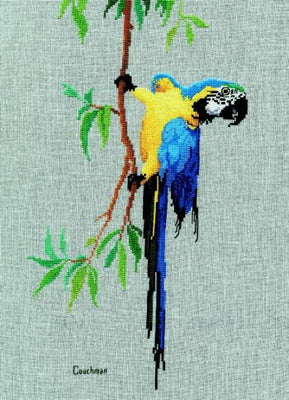 Macaw - A Couchman Creations cross stitch chart