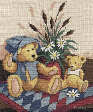 Teddy Friends - A Couchman Creations cross stitch chart