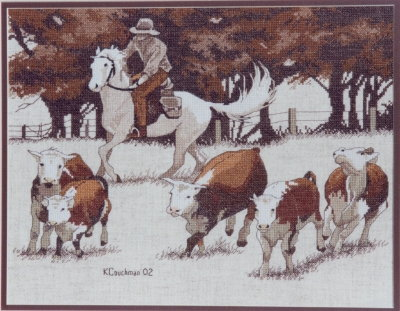 Roundup - A Couchman Creations cross stitch chart