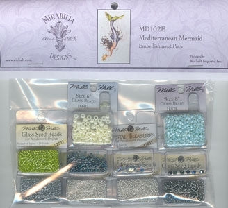 Mediterranean Mermaid Embellishment Pack MD102E