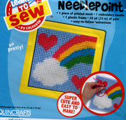 So Pretty (Rainbow) - Childrens Learn to Stitch kit