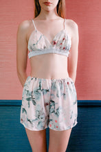Load image into Gallery viewer, Bralette & Shorts - Pink Floral