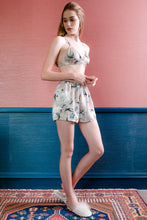 Load image into Gallery viewer, Bralette & Shorts - Nude Floral
