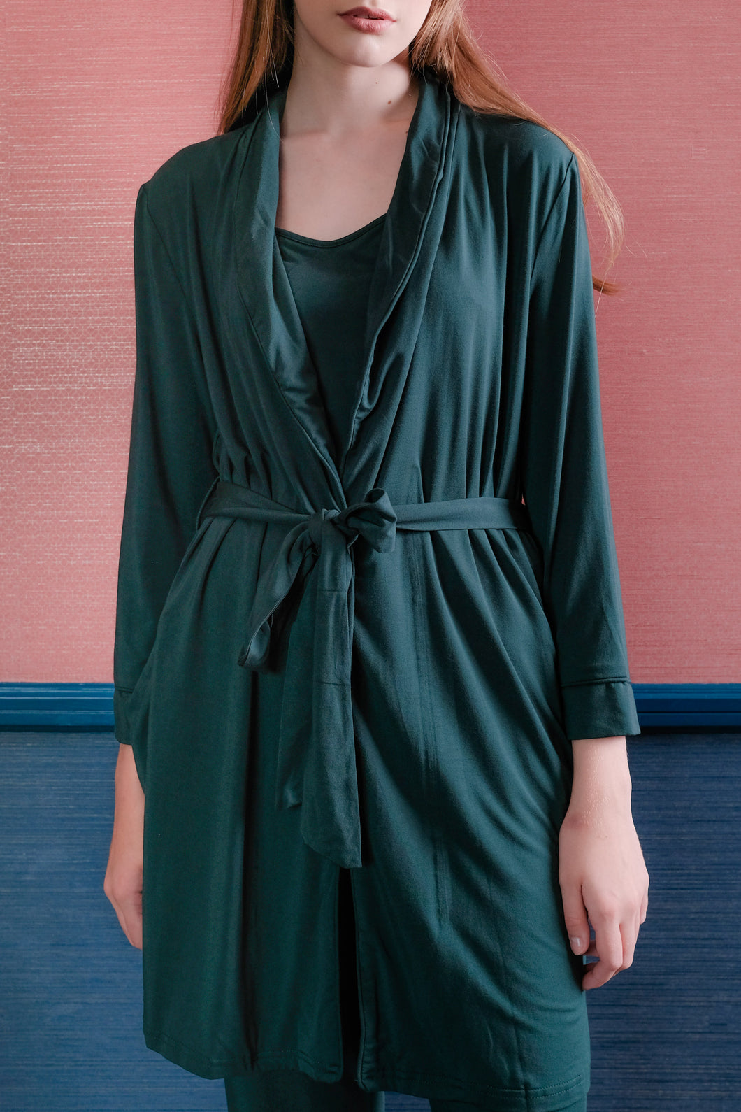 Essential Pyjamas - Emerald Green