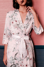 Load image into Gallery viewer, Demi Floral Robe - Pink
