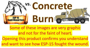 ESP-15 Vs... Concrete Burn (Graphic Photos)